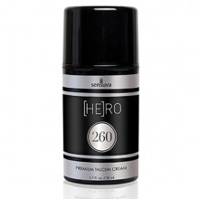 Sensuva He(ro) 260 talcum cream for men 50 ml