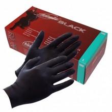 Black Ninja latex wegwerphandschoenen S