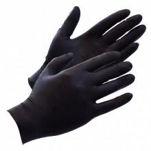 Black Ninja latex wegwerphandschoenen M